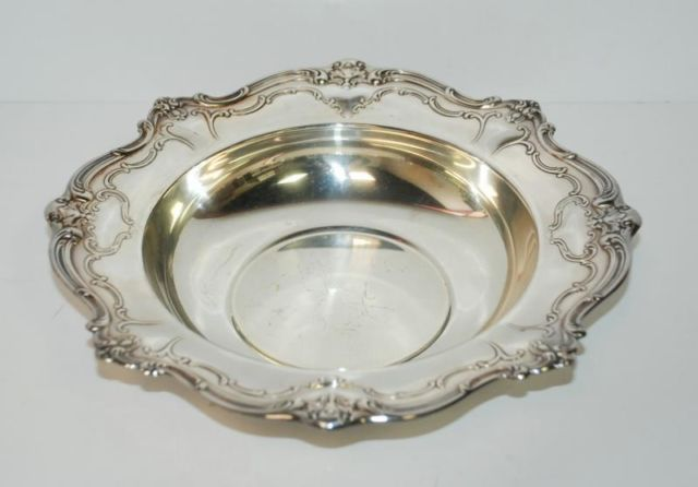 Antique Gorham Sterling Silver Plates