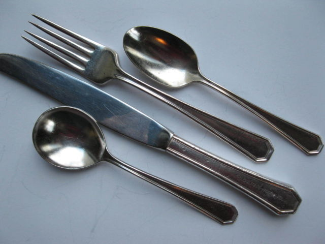 Antique Hotel Silverware