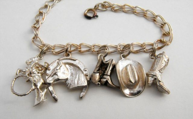 Vintage Silver Horse Charms