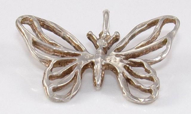 Antique Sterling Silver Butterfly Jewelry