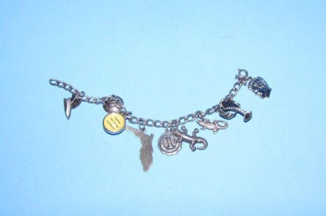 Vintage-Silver-Charm-Bracelet