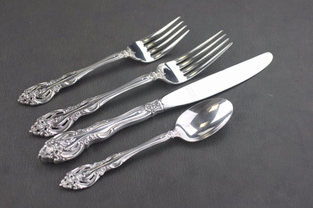 antique silverware la scala