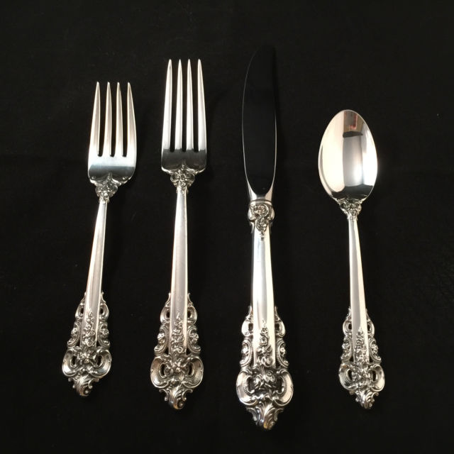 Antique Grande Baroque Flatware