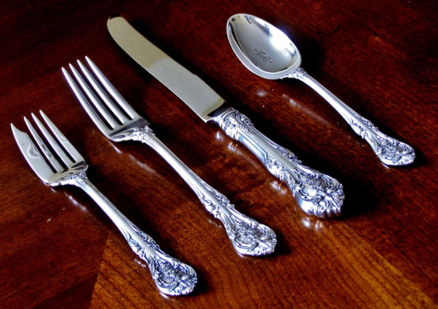 Antique Sterling Silver Flatware Sets