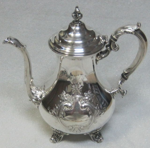 Antique Gorham Silver Tea Pots