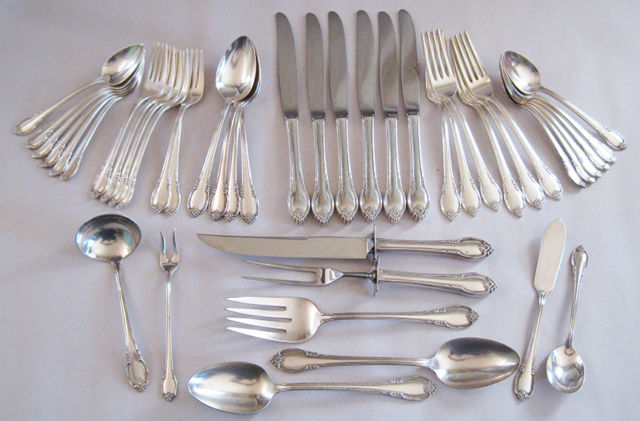 1847 Rogers Brothers Silver Flatware Sets