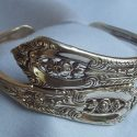 Beautiful Antique Silver Spoon Bracelets