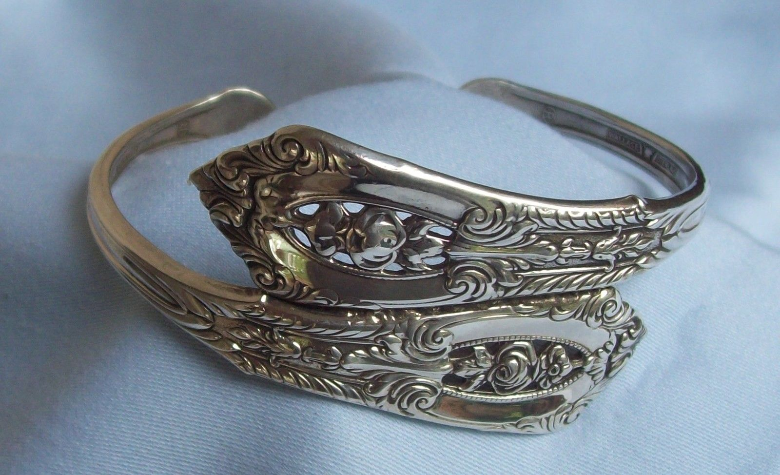 Antique Silver Spoon Bracelet