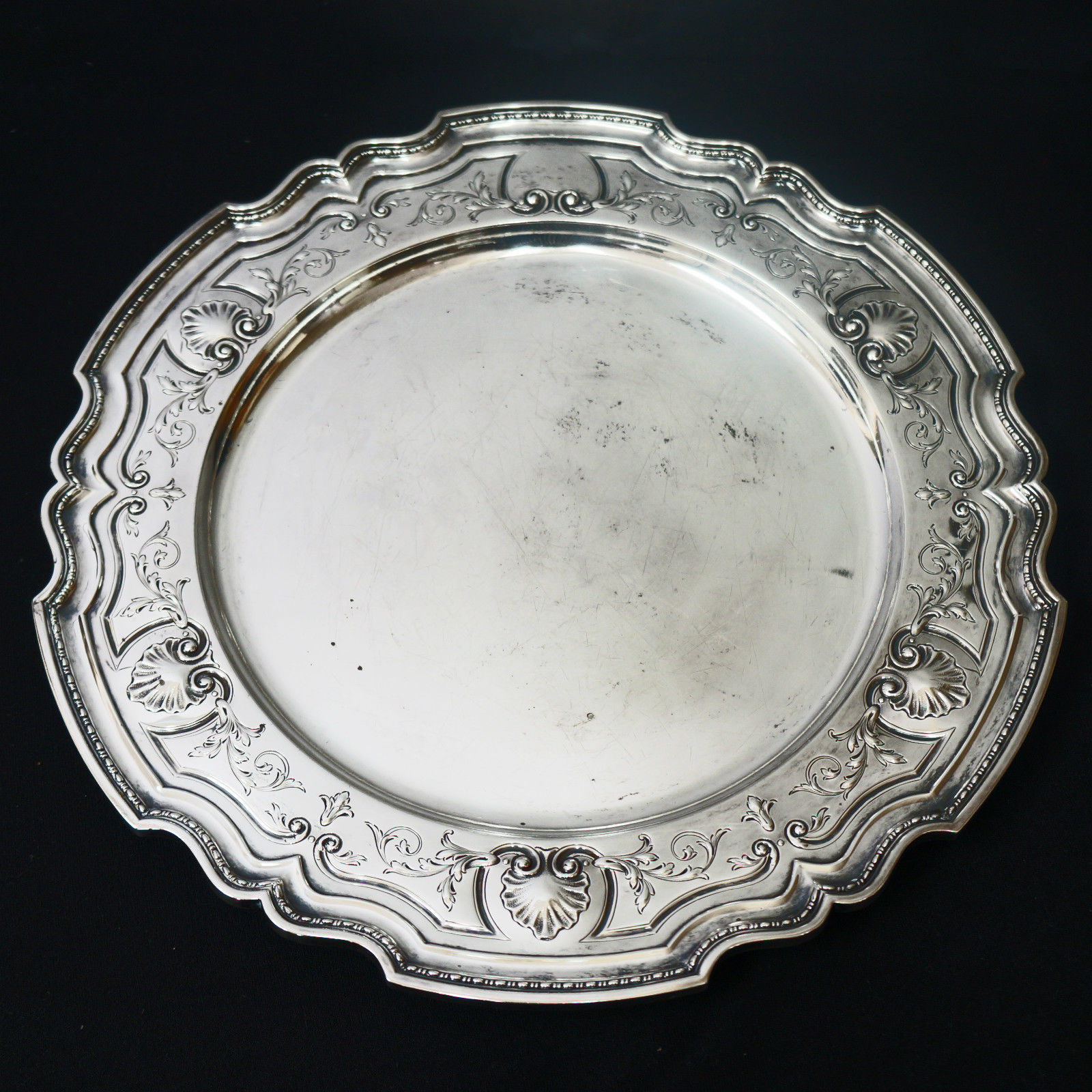 Antique Sterling Silver Platter