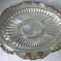 Vintage Gorham Heritage Silver Serving Trays