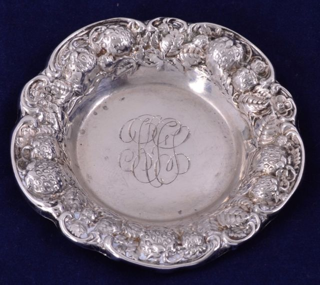 Antique Sterling Silver Butter Pats