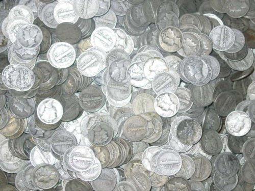 Vintage Silver Coins