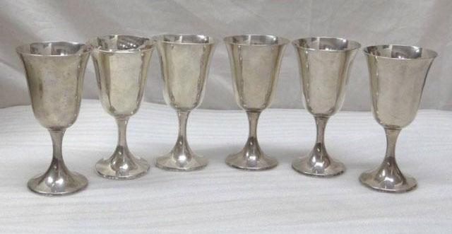 Vintage-silver-goblet