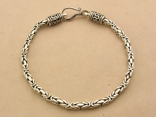 Vintage Sterling Silver Chains