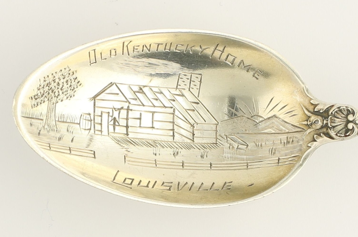 My Old Kentucky Home Antique Sterling Silver Collectibles