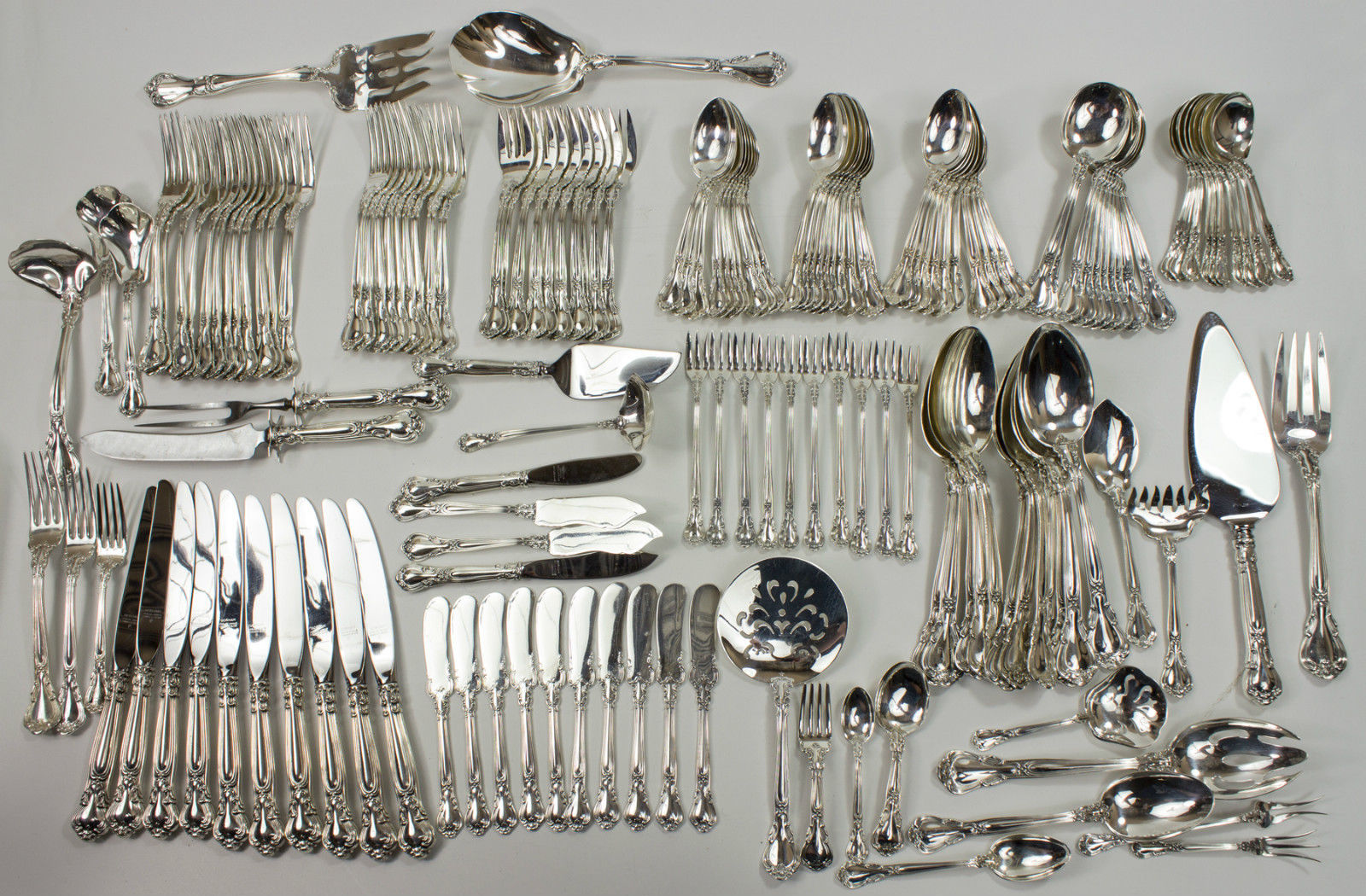 Antique Gorham Chantilly Sterling Silver Flatware