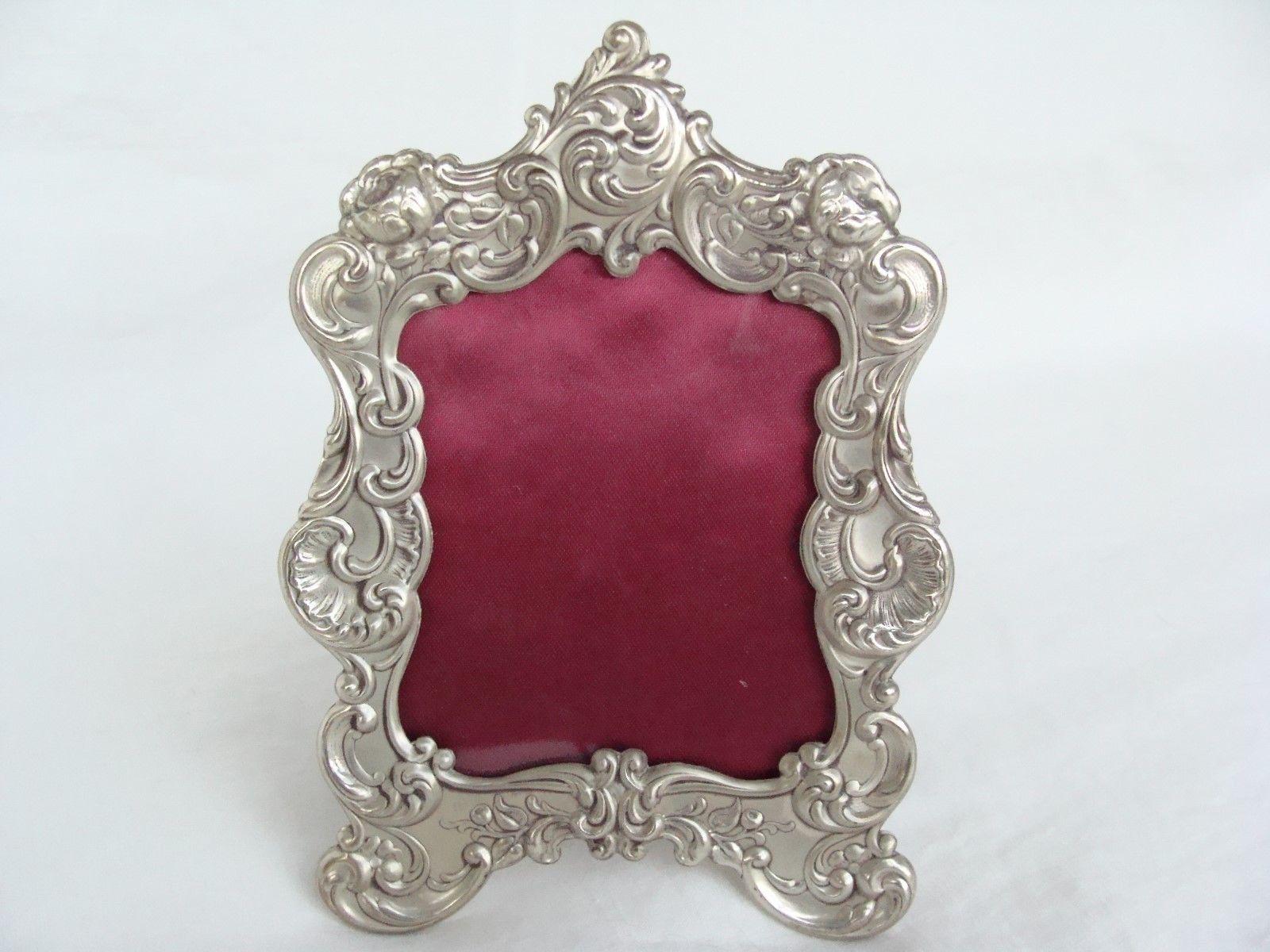 Antique Gorham Silver Picture Frame
