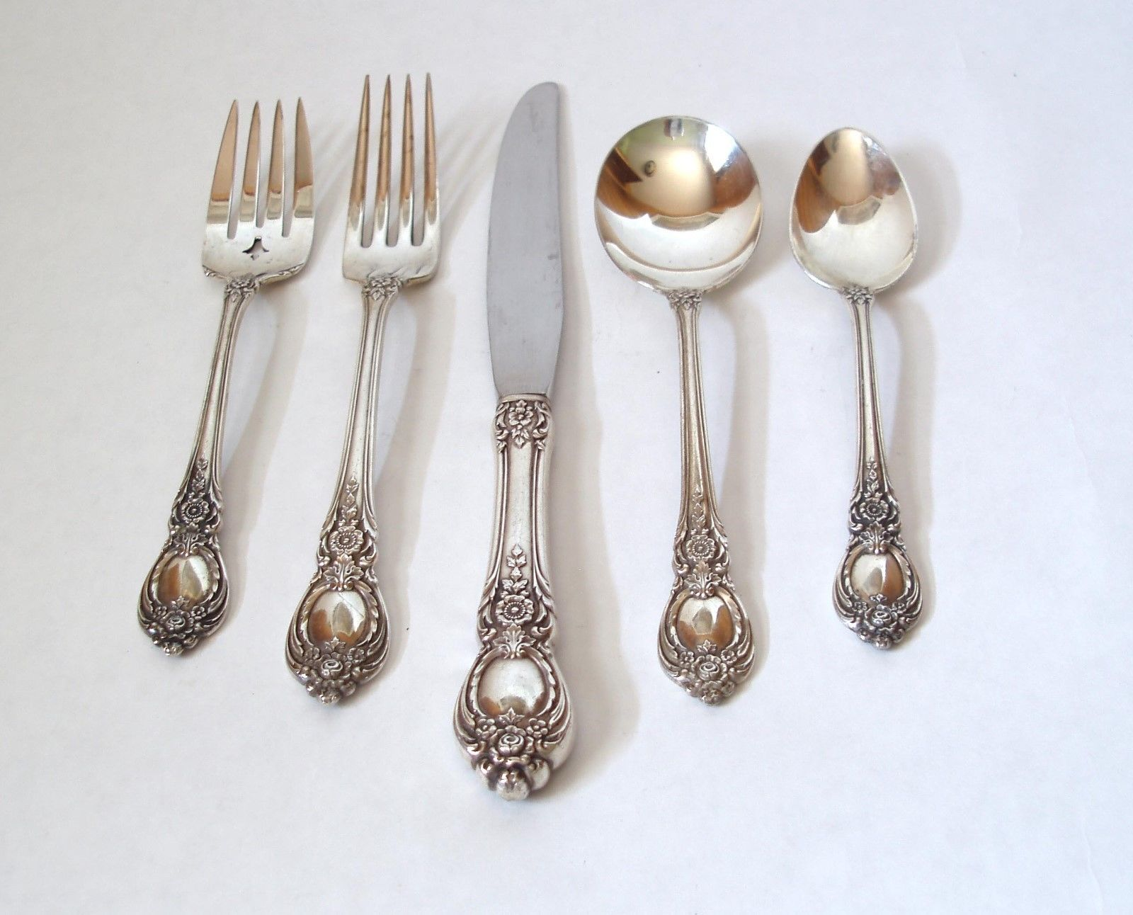 Antique Stanton Hall Silver Flatware