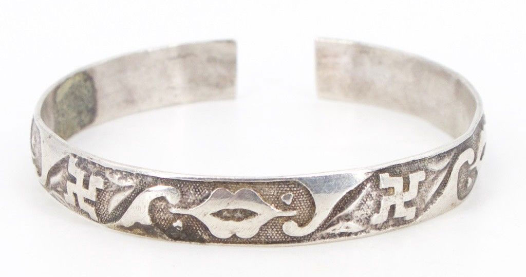 Antique Sterling Silver Bracelets