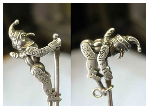Antique Silver Mechanical Charms