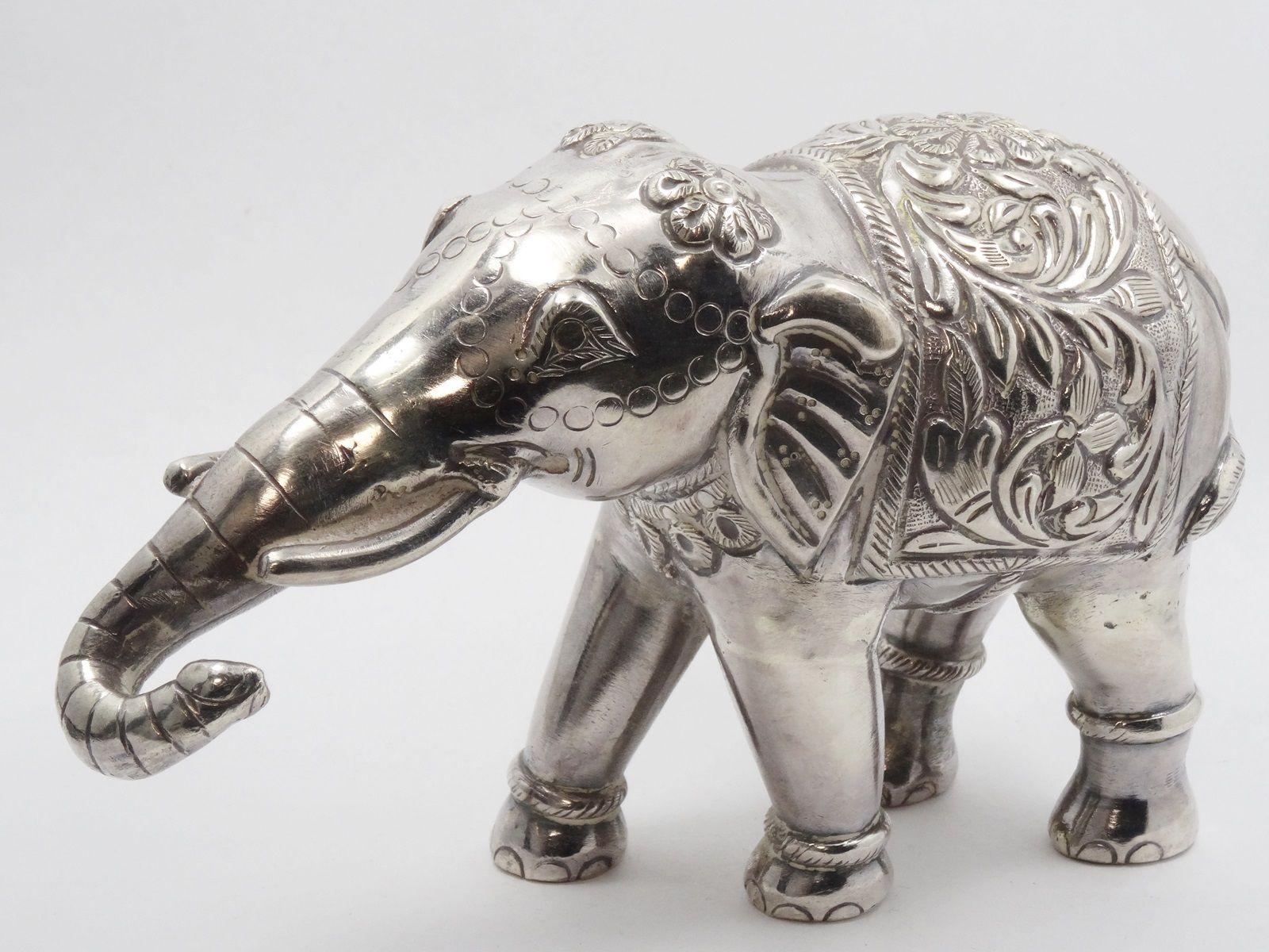 Miniature Sterling Silver Figurine