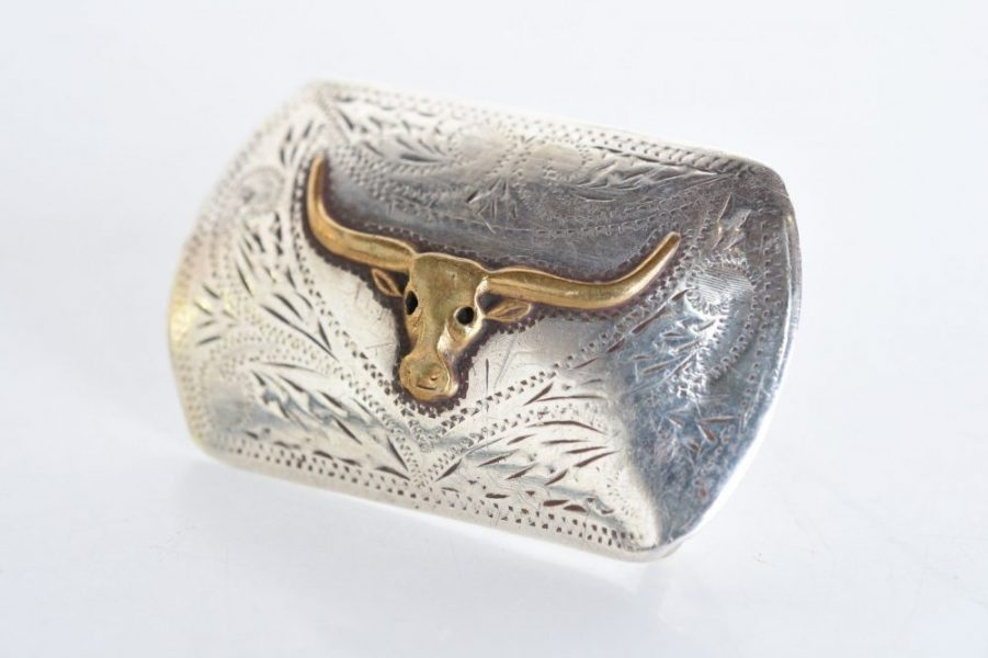 Don Ricardo Cowboy Western Belt Buckle